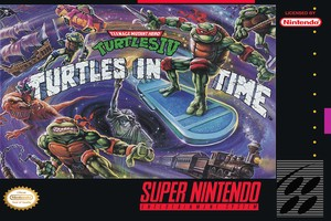 Turtles in Time SNES