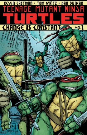 Teenage Mutant Ninja Turtles tpb cover