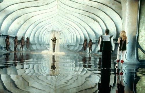 02 The set of Barbarella, 1968