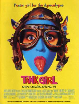 Tank Girl poster 1995