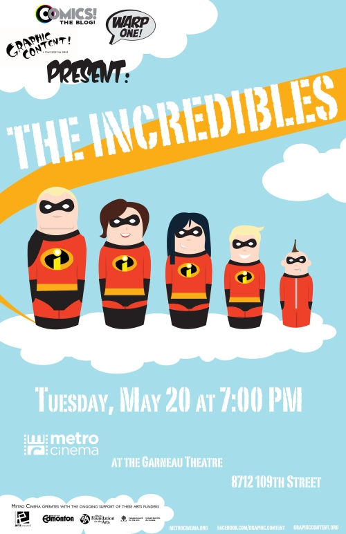 Incredibles poster